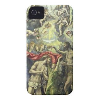 El bautismo de Cristo, c.1597 (aceite en lona) iPhone 4 Cobertura