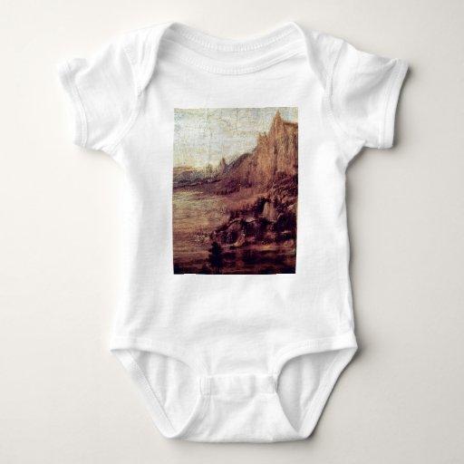 El bautismo de Cristo de Andrea del Verrocchio (B Tshirt