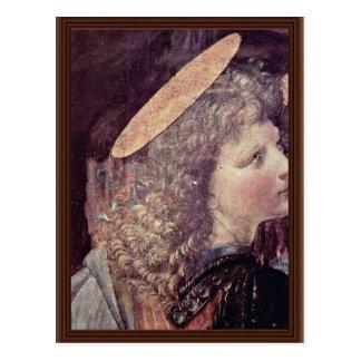 El bautismo de Cristo de Andrea del Verrocchio Postales