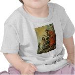 El bautismo de Cristo de Bartolome Esteban Murillo Camiseta