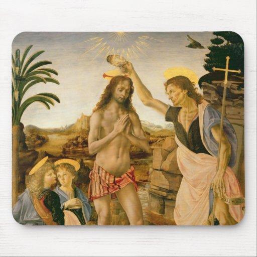 El bautismo de Cristo de San Juan Bautista Tapete De Ratones