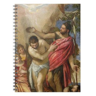 El bautismo de Cristo Libros De Apuntes
