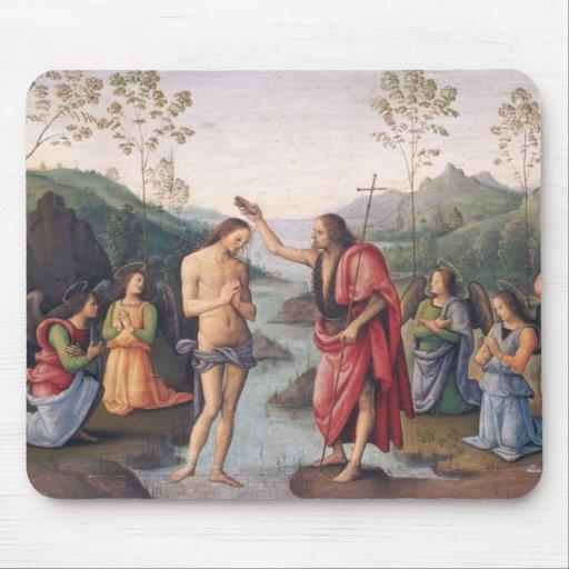 El bautismo de Cristo Alfombrilla De Raton