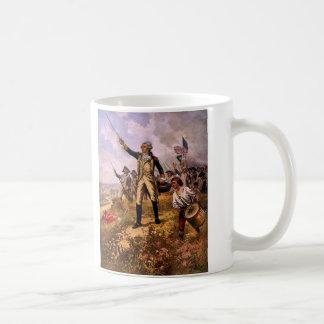 El bautismo de Lafayette del fuego de E. Percy Mor Tazas De Café