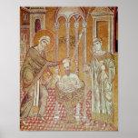 El bautismo de San Pablo por Ananias Impresiones