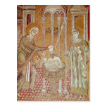 El bautismo de San Pablo por Ananias Postal