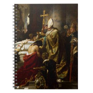 El bautismo de Vajk de Gyula Benczúr (1875) Libretas