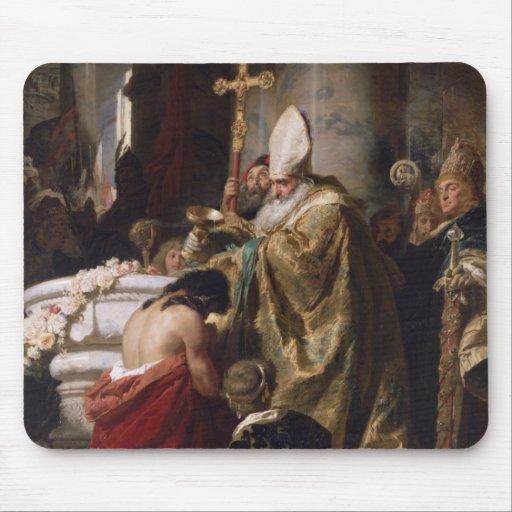 El bautismo de Vajk Alfombrillas De Ratón