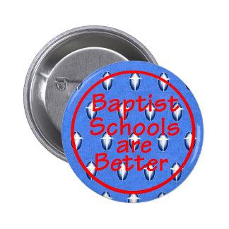 El Bautista enseña el botón Pin Redondo De 2 Pulgadas