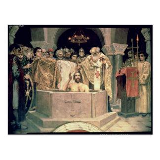 El bautizo de duque magnífico Vladimir, 1885-96 Tarjetas Postales