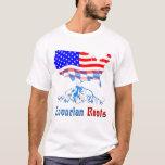 El Bavarian americano arraiga la camiseta