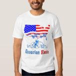 El Bavarian americano arraiga la camiseta Playeras