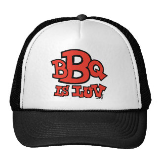 El Bbq es gorra de Luv
