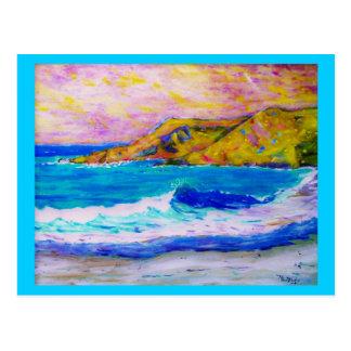 el beachcombing es buena terapia postal