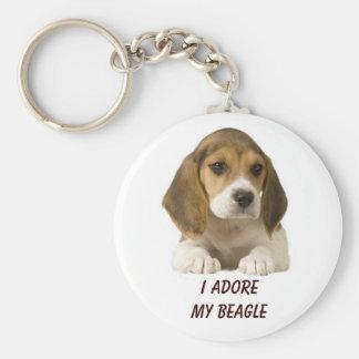 El beagle adora llavero
