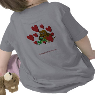 El beagle animado del dibujo animado del perro camisetas