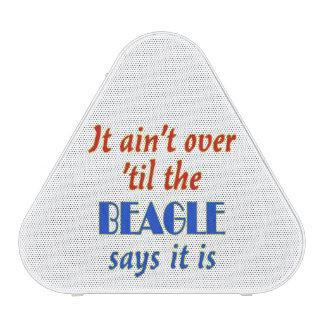 El beagle dice (el personalizable) altavoz bluetooth