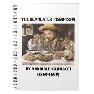 El Beaneater (1580-1590) por Annibale Carracci Libro De Apuntes