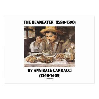 El Beaneater (1580-1590) por Annibale Carracci Tarjetas Postales