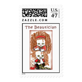 El Beautician 2 Timbres Postales