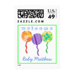 El bebé agradable personalizó el sello del globo
