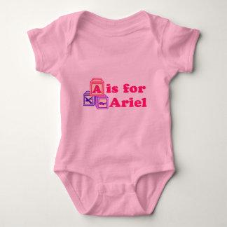 El bebé bloquea a Ariel Body Para Bebé