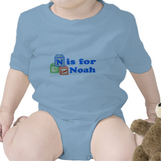 El bebé bloquea a Noah Traje De Bebé