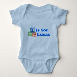 El bebé bloquea Lucas Playeras