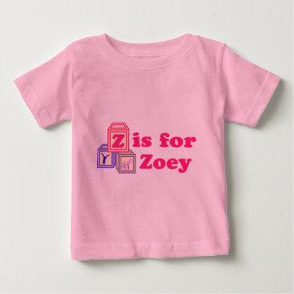 El bebé bloquea Zoey Playera De Bebé