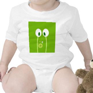 El bebé caracol se sube por las antenas de papá camisetas