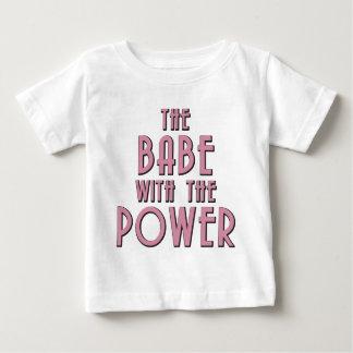 El bebé con el poder playera de bebé