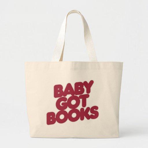 El bebé consiguió los LIBROS Bolsa Tela Grande