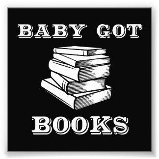 El bebé consiguió los libros fotografías