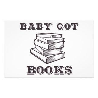 El bebé consiguió los libros papeleria personalizada