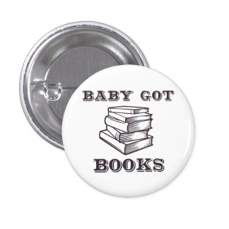 El bebé consiguió los libros pin redondo de 1 pulgada