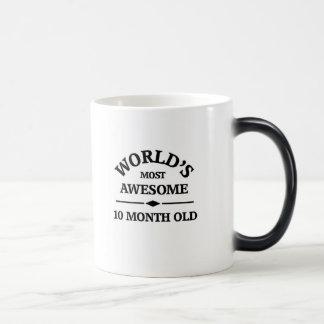 El bebé de 10 meses más impresionante del mundo taza mágica