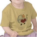 El bebé de la mamá camiseta