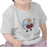 El bebé de la mamá camisetas