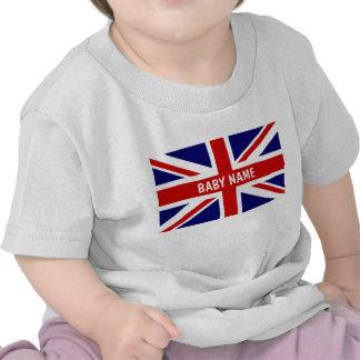 El bebé de Union Jack remata la bandera del | Pers Camisetas