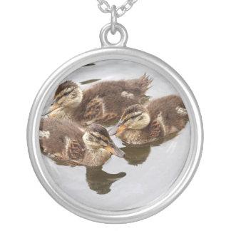 El bebé Ducks la foto Colgante Personalizado