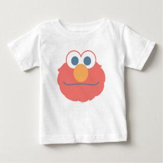 El bebé Elmo hace frente Playera De Bebé