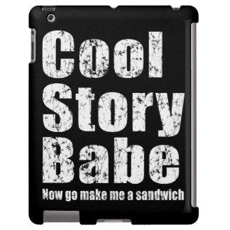 El bebé fresco de la historia ahora va me hace un  funda para iPad