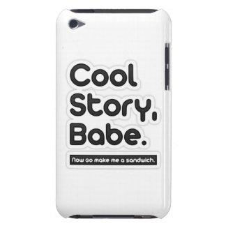 El bebé fresco de la historia, ahora va me hace un iPod Case-Mate carcasa