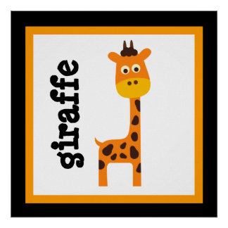 El bebé lindo de los animales del safari de la jir