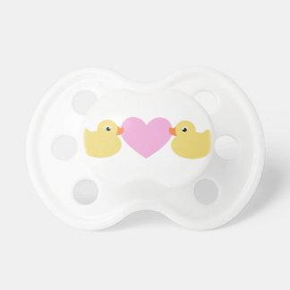 El bebé lindo Ducks el pacificador Chupete De Bebe