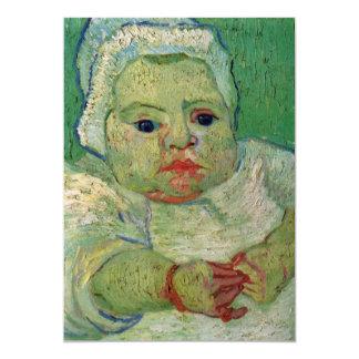 El bebé Marcelle Roulin de Vincent van Gogh Invitacion Personal
