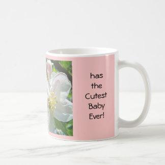 ¡El bebé más lindo nunca! Flor de los flores de Ap Taza