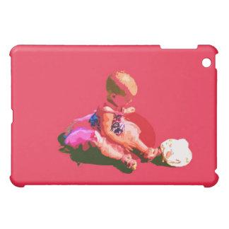 el bebé que sentaba y que jugaba pascua rosada pos