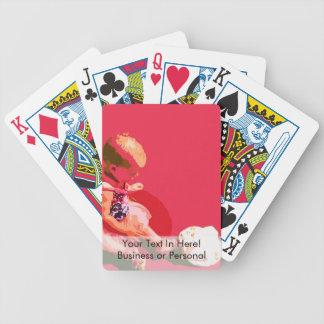 el bebé que sentaba y que jugaba pascua rosada pos baraja cartas de poker