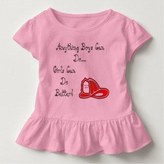 El bebé/Toddle al chica que vivimos 48/96 Playera De Bebé